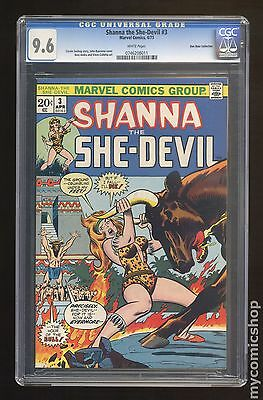 Shanna The She-Devil (1st Series) #3 CGC 9.6 (0746208011) Don Rosa Collection