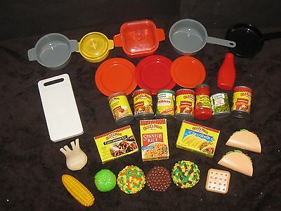 Kitchen Pretend Play Food Mexican Hispanic Preschool Daycare Huge Toy Lot