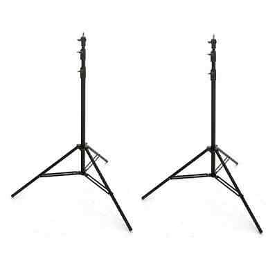 LightPro 2 x 2.8m Stand Twin Lighting / Light Kit with Bag