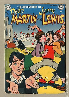 Adventures of Dean Martin and Jerry Lewis (1952) #1 GD+ 2.5