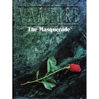 Vampire the Masquerade Core Rule Book Second Edition