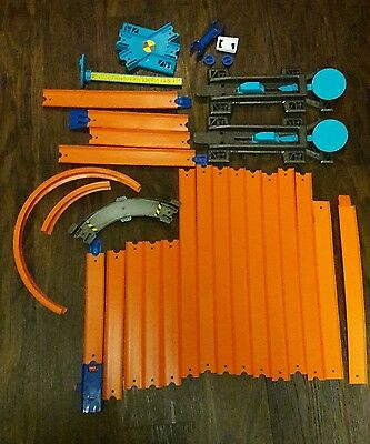 Hot Wheels Track Builder System stunt set Replacement parts and extra tracks
