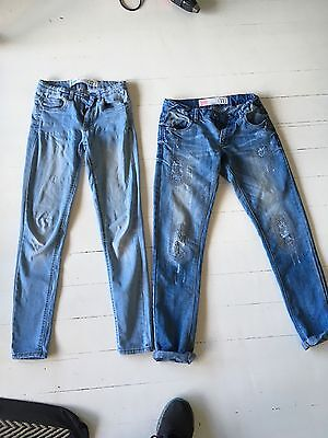 Free By Cotton On Girls Jeans Size 11 & 12