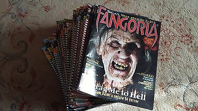 FANGORIA 45 issues #239 to #283.Jan 2005 to may 2009.