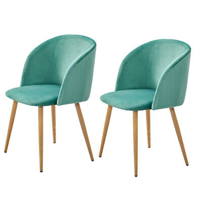 Astounding 4 X Faux Leather Dining Restaurant Chairs With Chrome Legs Evergreenethics Interior Chair Design Evergreenethicsorg