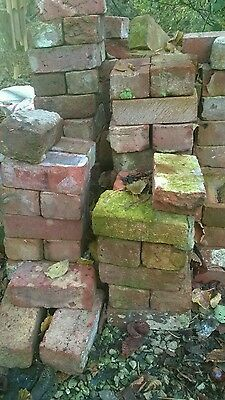various reclaimed red bricks (some rare)approx 150