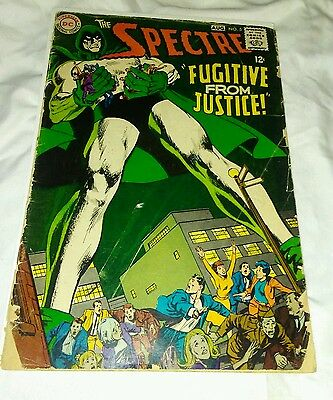 DC Comics The SPECTRE Fugitive From Justice