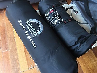 Spinifex Lifestyle Camping Mat Single Navy