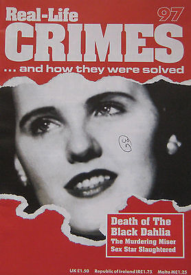 Real-Life Crimes Issue 97 - Death of the Black Dahlia, Elizabeth Short