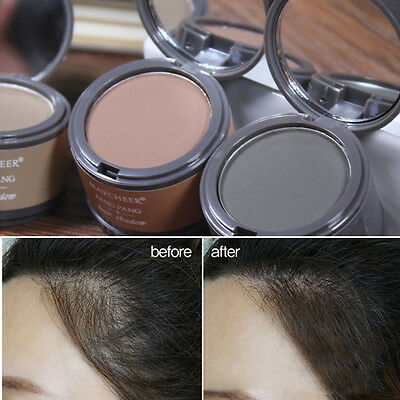 Eyebrow Powder/Hair Line Shadow Hair Color Powder Extract Brow with Mirror &Puff
