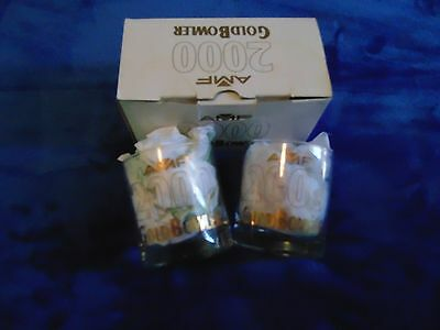 AMF 2000 GoldBowler Glasses (Twin Pack) (New Never Used)