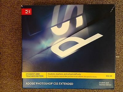 Adobe Photoshop CS5 Extended for Mac EDU - graphic art photo design software