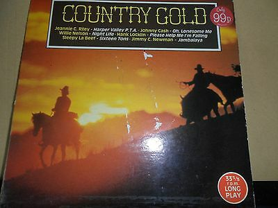 """Country Gold.various Artists.6 Track Ep.scoop.7"""" Vinyl Single.33Rpm"""