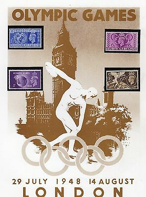 Olympic Games Stamp Collection Page 1