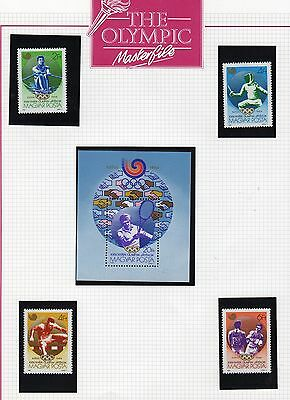 Olympic Games Stamp Collection Page 4