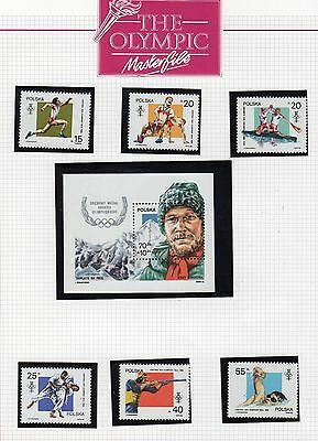 Olympic Games Stamp Collection Page 5