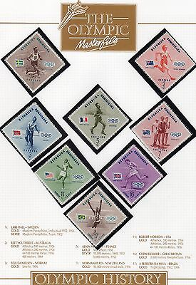 Olympic Games Stamp Collection Page 10