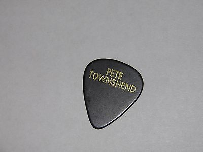 Pete Townshend The Who - Custom Guitar Pick Stage Used GENUINE RARE