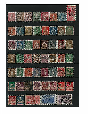 """Switzerland old collection with newer """"Pro Patria' Good CV"""