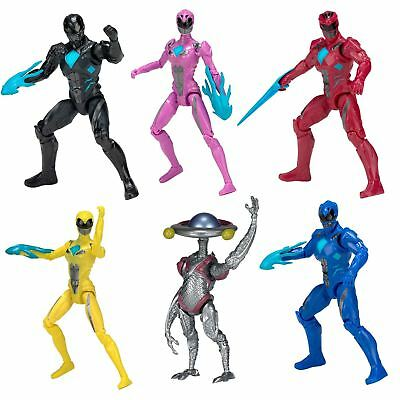 Bandai Power Rangers Movie 12.5cm Articulated Action Figures