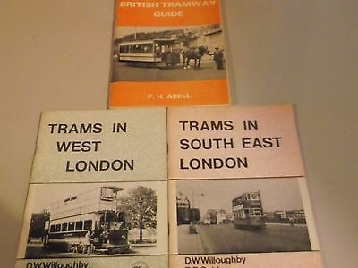 Collection of booklets on trams