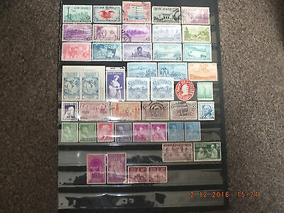 Selection of stamps from the USA, MNH/FU