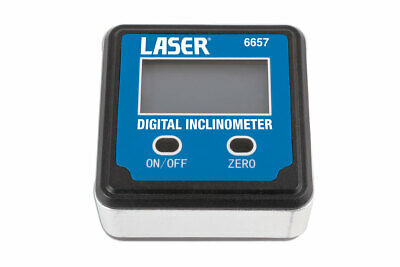 Laser Inclinometer now essential for the modern motor vehicle accurate angle