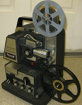 "Bell & Howell  ""THE ULTIMATE"" Telecine Projector for REG/STD 8mm film transfer"
