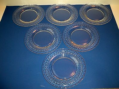 "6 Cambridge KING EDWARD Luncheon Plates 8"" 1940 - 58"