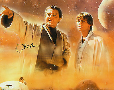 Phil Brown Autographed Photo Star Wars
