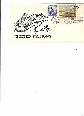 United Nations FDC 14.04.1958