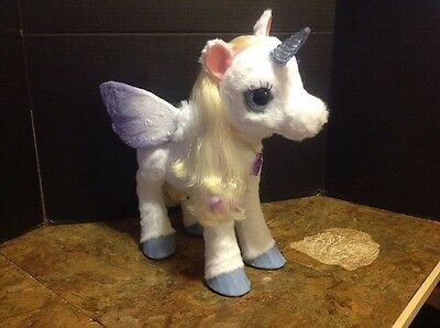 Hasbro FurReal Friends StarLily My Magical Unicorn Pet w/ Sounds & Motions