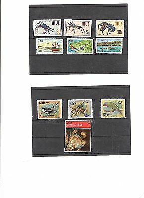 Niue Stamps Mint  sets 38 stamps in all