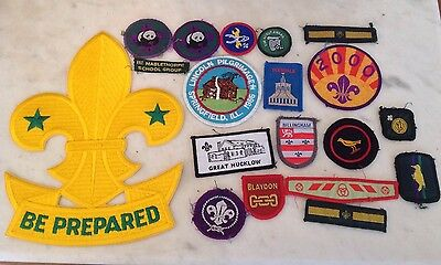 VINTAGE GIRL GUIDE And CUB SCOUT BADGES AND MEMORABILIA - North & East England