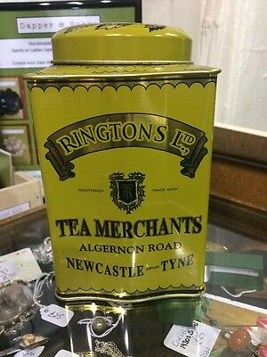 Tea Caddy Tin