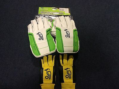 Kookaburra 300L Wicket Keeping Gloves + Padded Inners