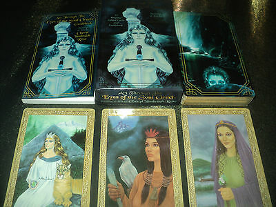 Art Through The Eyes Of The Soul Oracle Cards Deck & Book Set - Not Tarot