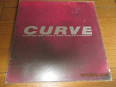 Curve 'clipped' 4 Track Vinyl Single Ep 1991