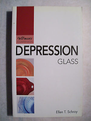 DEPRESSION GLASS PRICE GUIDE BOOK Color Picture's and price values both