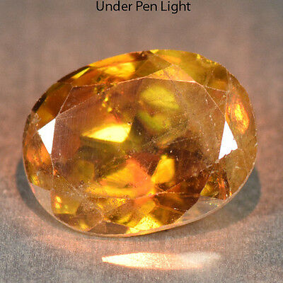 1.25 Cts Unheated Rare Color Change Natural Sphene Gemstones