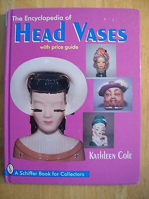 HEADVASE BIG BOOK $$$ id PRICE GUIDE COLLECTOR'S BOOK HEAD VASES