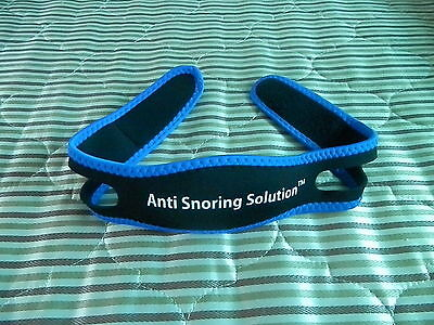 Anti Snore Chin Strap Stop Snoring Jaw Band Solution Apnoe Support Belt Sleep
