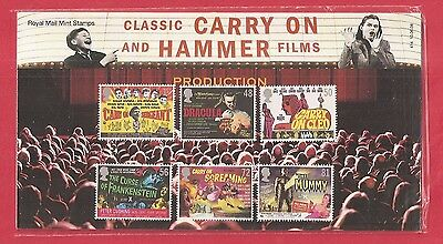 GB Presentation Pack 2008 CLASSIC CARRY ON,HAMMER FILMS