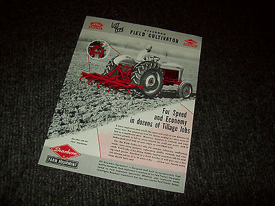 Ford Dearborn Field Cultivator For Tractor Brochure Ad Literature