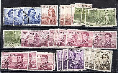 Australia 1966-71 Navigator High Values to $4 (34v) X5148