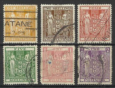 New Zealand Postal Fiscals Selection Used