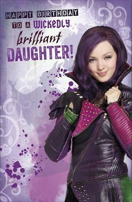 Disney Descendants To A Wicked Brilliant Daughter Birthday Card New Gift
