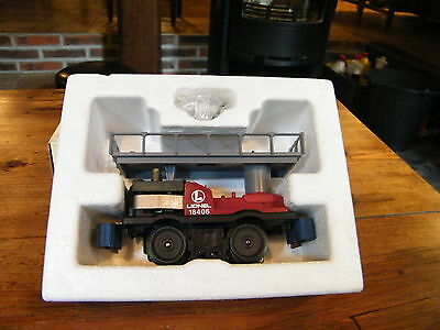 Lionel - 6-18406 -  Operating Track Maintenance Car W/ Reverse Action