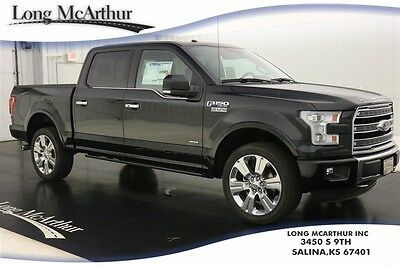 2016 Ford F-150 LIMITED 4WD SUPERCREW NAV MSRP $65215 4X4 4 DOOR ECOBOOST NAVIGATION LEATHER REAR VIEW CAMERA REVERSE SENSING