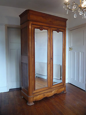 Authentic Knockdown Louis Philippe French Armoire Wardrobe Cupboard
